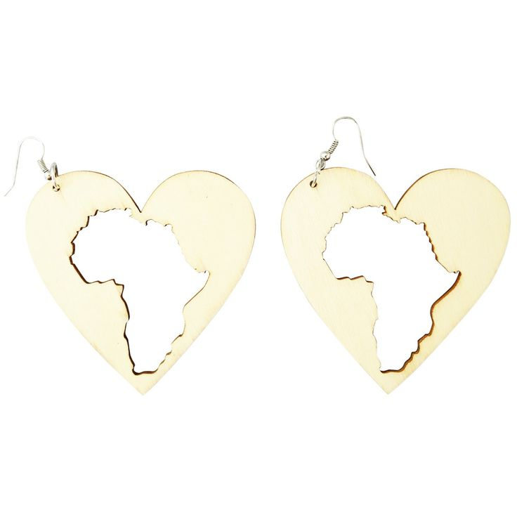 41 best Africa Shaped Earrings images on Pinterest