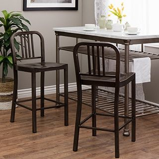 Shop For Vintage Metal Counter Stool (Set Of 2). Get Free Shipping At