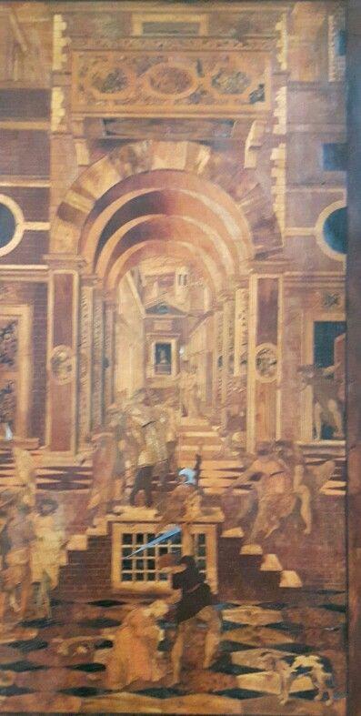 Coro Intarsiato.  Frate Domenico Zambelli 1528-1550