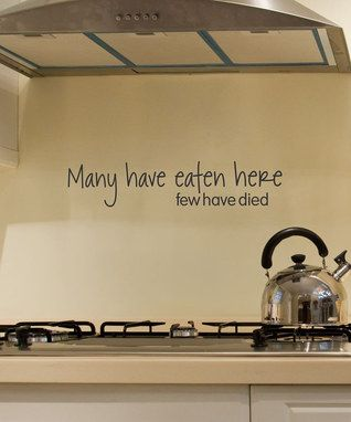 Hehe words for the kitchen