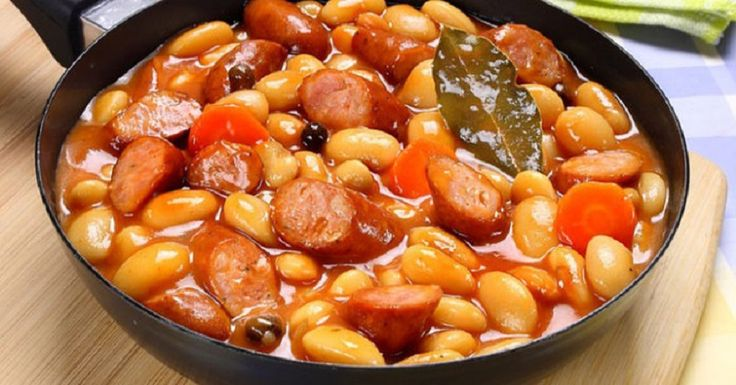 Bab füstölt virslivel és párolt zöldségekkel - Mellesleg csoda finom! - Ketkes.com
