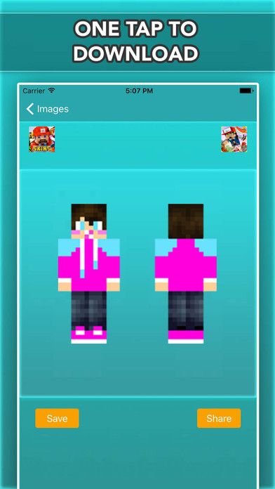 Whos Your Baby Skins For Minecraft Pocket Edition on the App Store
