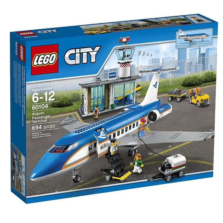 Come check out our new item: *SALE* LEGO City ...! It wont last long at this price! So click -> http://www.tribbledistributionss.com/products/lego-city-airport-60104-passenger-terminal-building-kit-694-piece?utm_campaign=social_autopilot&utm_source=pin&utm_medium=pin before they are gone!!