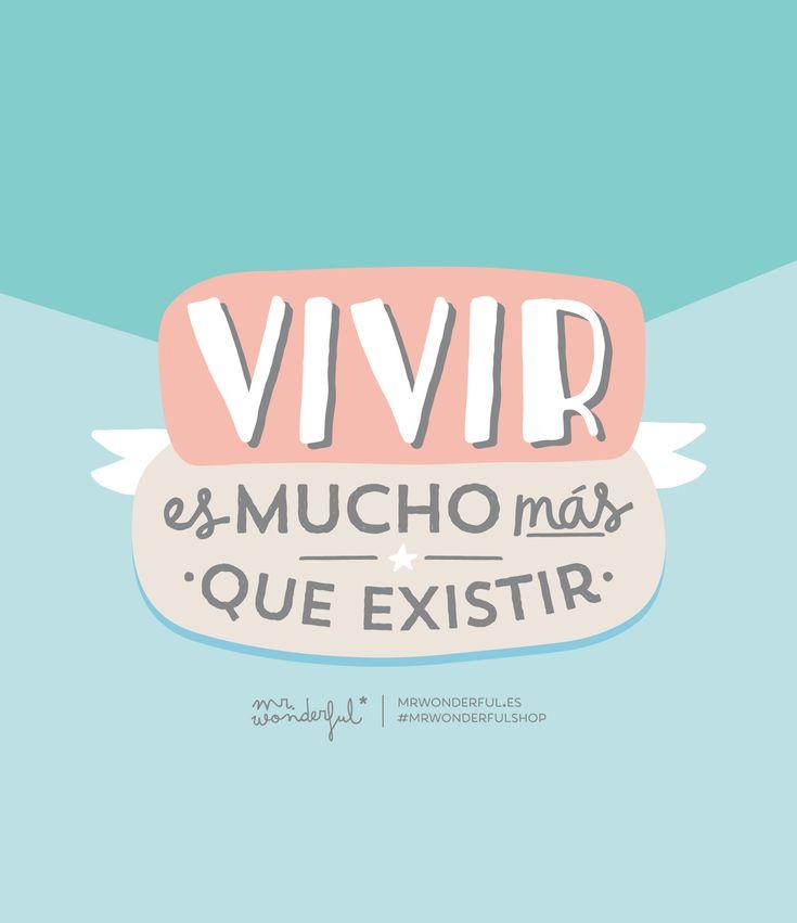¡Buenos días! Vivir es mucho más que existir. #FelizViernes #disfrutadelavida