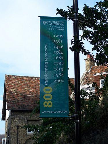 University of Cambridge 800th Anniversary Banner   Michael Barton   Flickr