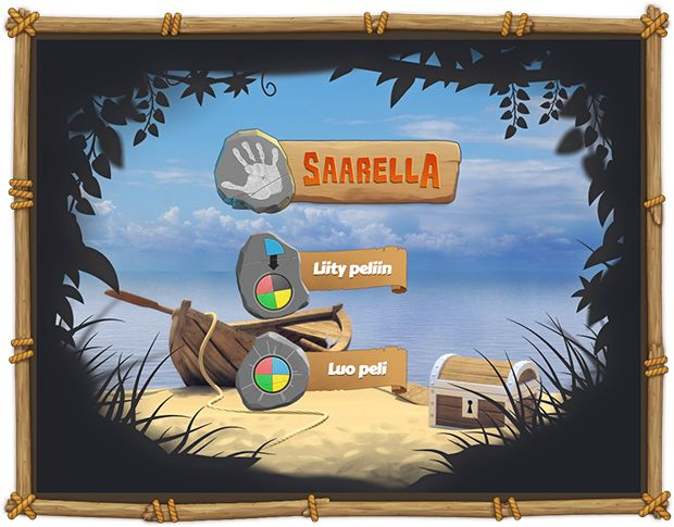Saarella - an interactive online game fostering co-operation and negotiation skills