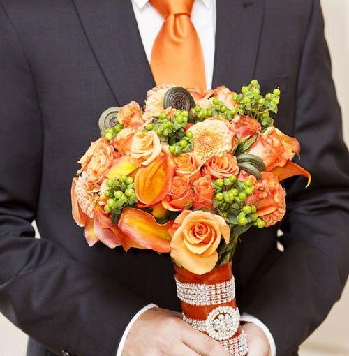 Oranje als vrolijke themakleur voor je bruiloft
