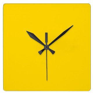 Sunny day Square Wall Clock