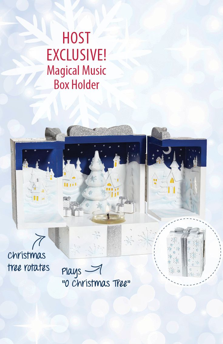 Music. Magic. Memories. Mmmmm… Enjoy this Party Host exclusive. Contact your PartyLite Consultant today!
