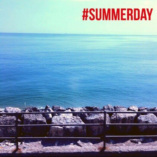 #summerday blue