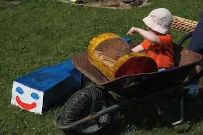 Tesařík zahradní: mašinka