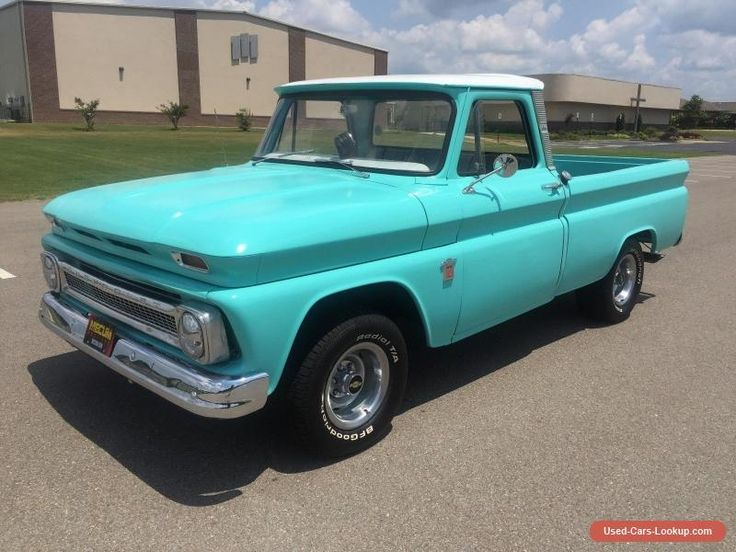 1966 Chevrolet C-10 Custom #chevrolet #c10 #forsale #unitedstates