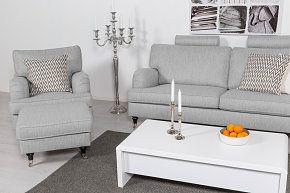 Köp Howard Classic Soffgrupp 2-sits+3,5-sits+Fåtölj+Fotpall - Beige på Trademax.se! ✔ 400.000 nöjda kunder ✔ Alltid fri frakt & öppet köp ✔ Sommarkampanj - Välkommen till Trademax.se!