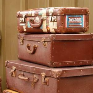 le valige da preparare