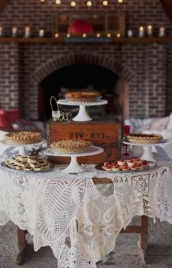 Pie table | Cake alternative