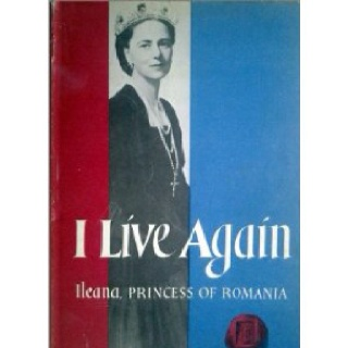 Book by my grandmother, Ileana Princess of Romania telling the story of being exiled from her home country of Romania and coming to the United States with all six children including my father, Stefan Habsburg the Archduke of Austria