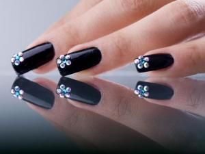 deco ongles avec strass