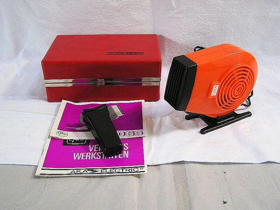 70er Haar Fön AKA-LD65 / Komplett mit von DreamlandofElves auf Etsy
