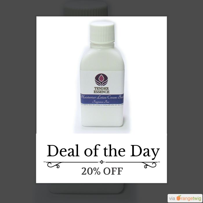 Today Only! 20% OFF {{Moisturiser Lotion Cream Base Fragrance Free 50ml}}. Follow us to see Daily Essential Oil Deal. Buy now: https://small.bz/AAcIf7IToday Only!  this item.  Follow us on Pinterest to be the first to see our exciting Daily Deals. Today's Product: {{Moisturiser Lotion Cream Base Fragrance Free 50ml}}Buy now: #uk #essentialoils #aromatherapy #shop #natural #oils #sale #dailydeal #dealoftheday #todayonly