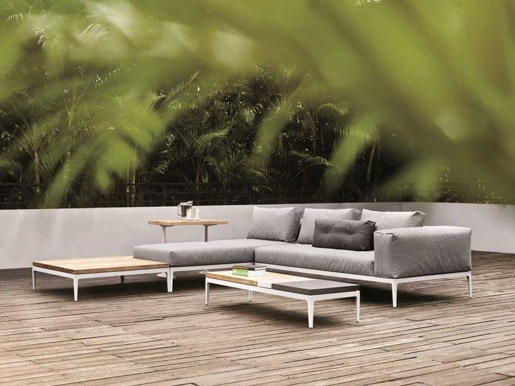 Gartensofas Garten-Lounge Vis à Vis Sofa Tribù Check it out - lounge gartenmobel 22 interessante ideen fur paradiesischen garten