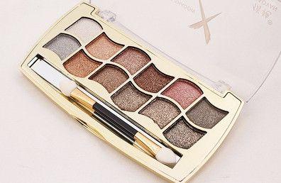 eye shadow palette super flash paleta de maquiagem Glitter eyeshadow