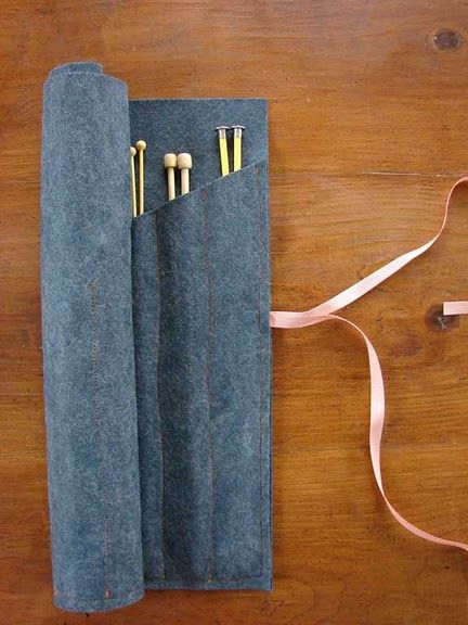 knitting needle case • marcie paper • via aesthetic outburst