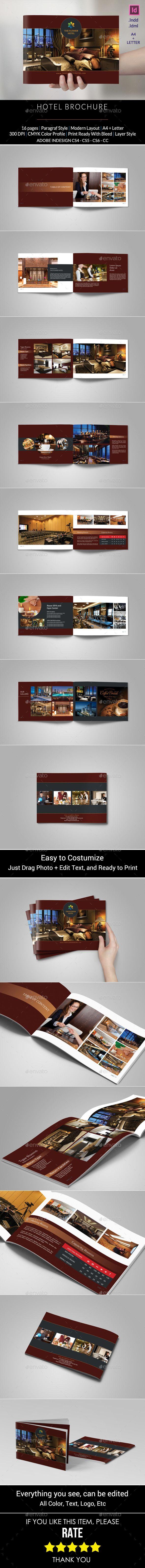 Hotel Brochure Template #design Buy Now: http://graphicriver.net/item/hotel-brochure/12852742?ref=ksioks