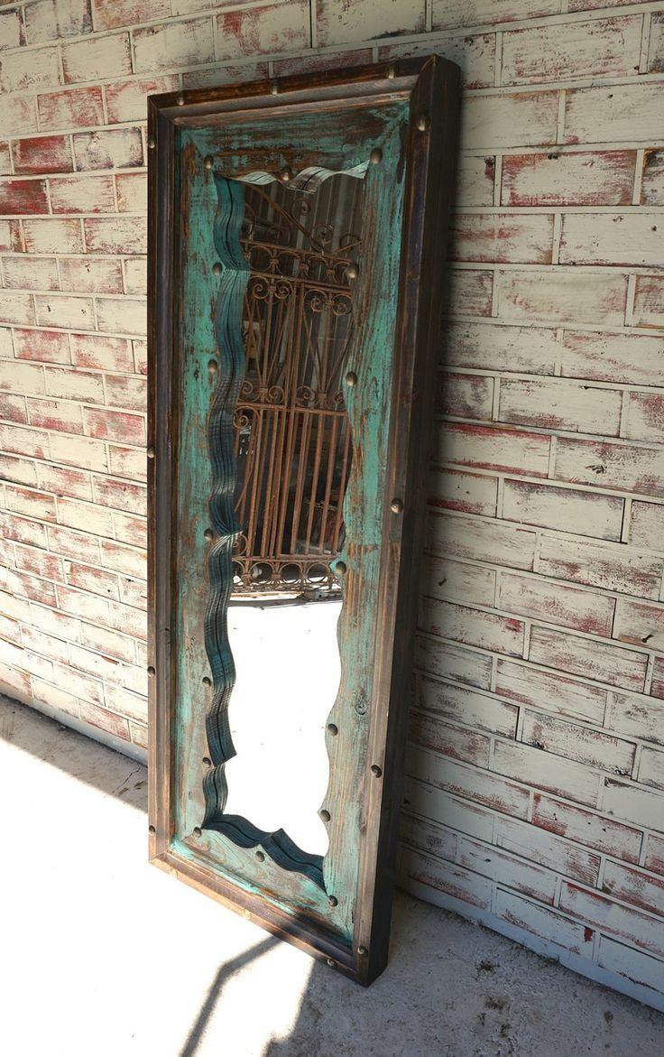 Fringe Dressing Mirror. Dressing MirrorRustic FurnitureRustic ...