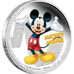 Disney Silver and Gold Coins Image from Amazon