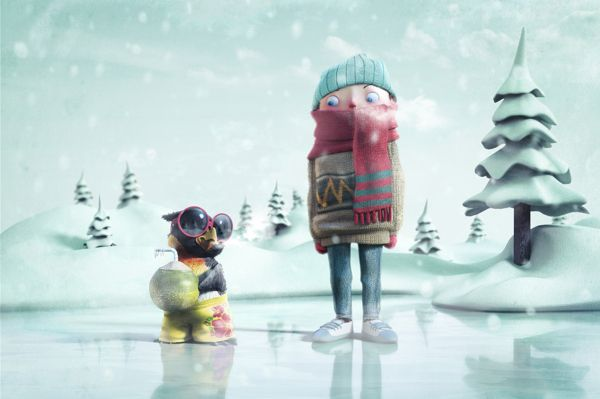 ILLUSTRATION CGI 3D by Studio Mutato , via Behance