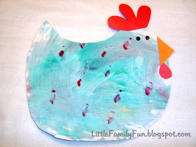 Chicken Craft FARM WEEKCrafts For Kids, Book, Painting Projects, Farms Theme, Cut Outs, Clocks, Families Fun, Preschool, Chicken Crafts