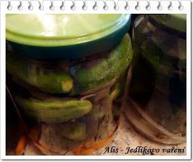 Jedlíkovo vaření: Domácí nakládané okurky