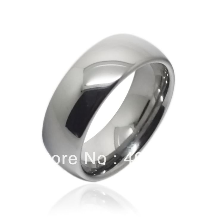 Free Shipping! USA HOT SALES WHOLESALES PRICE Women&Men's Tungsten Carbide Ring High Poslished Classic Wedding Comfort Fit Ring