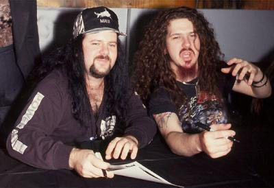 Vinnie Paul Abbott and Dimebag
