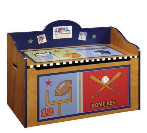 Toy Chest Baby Room Themed   Music Box