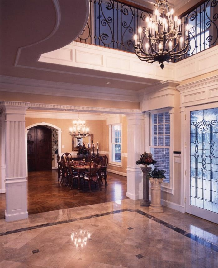 Crown Molding Two Story Foyer : Nh foyer crown molding home design and decor