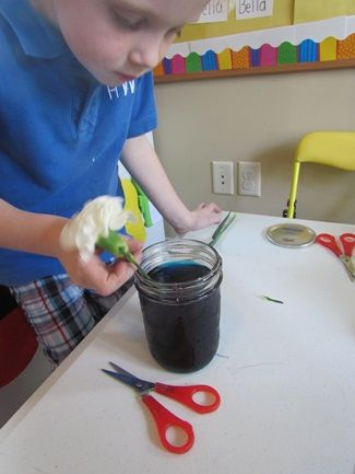Carnation Colors Preschool Science Activity - Spell Out Loud