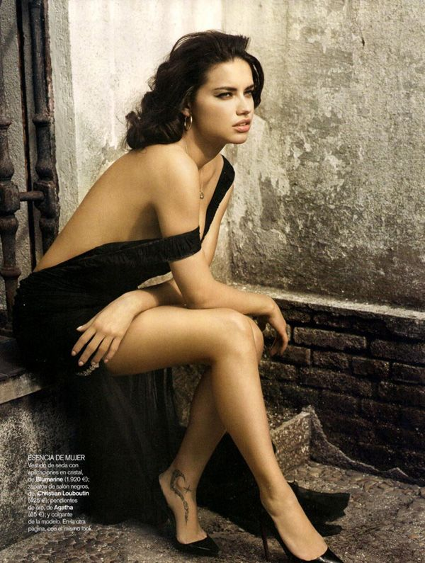 Vincent Peters shoots Adriana Lima and husband Marko Jaric for the June 2010 issue of Vogue Spain.