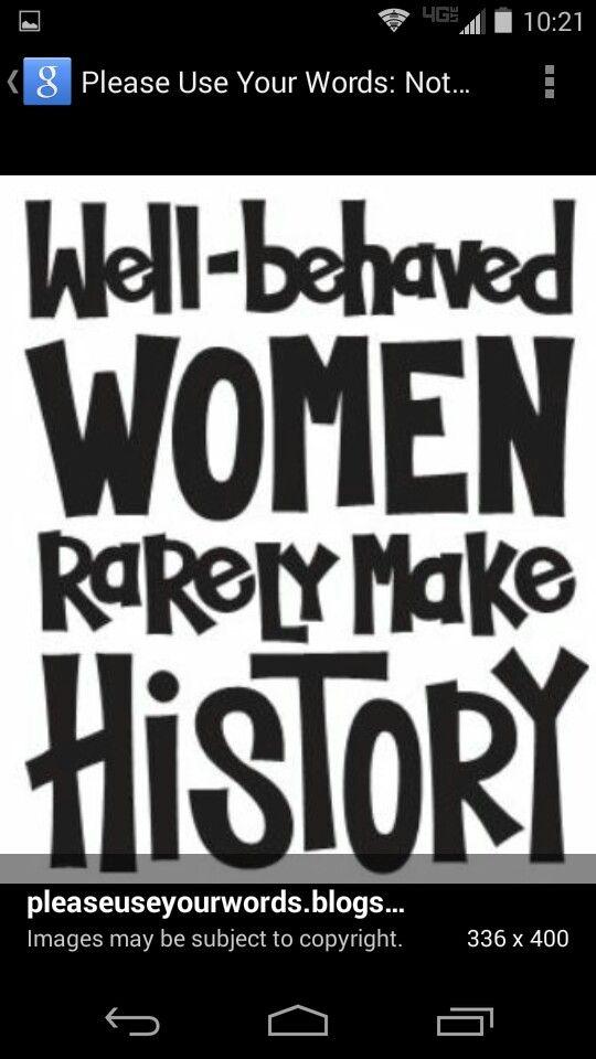 Amateur Dating Pics Zitate inspirierender Frauen in der Geschichte
