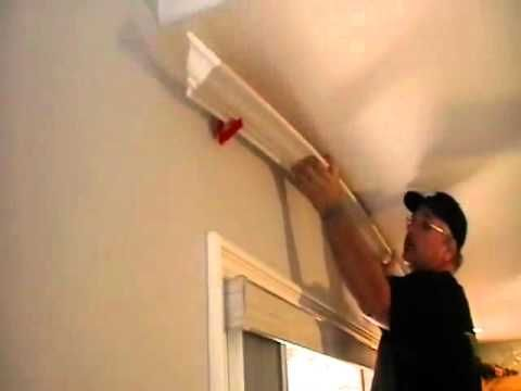 Coving - Crown Molding Installation Made Easy - YouTube video FASTCAP PRODUCT