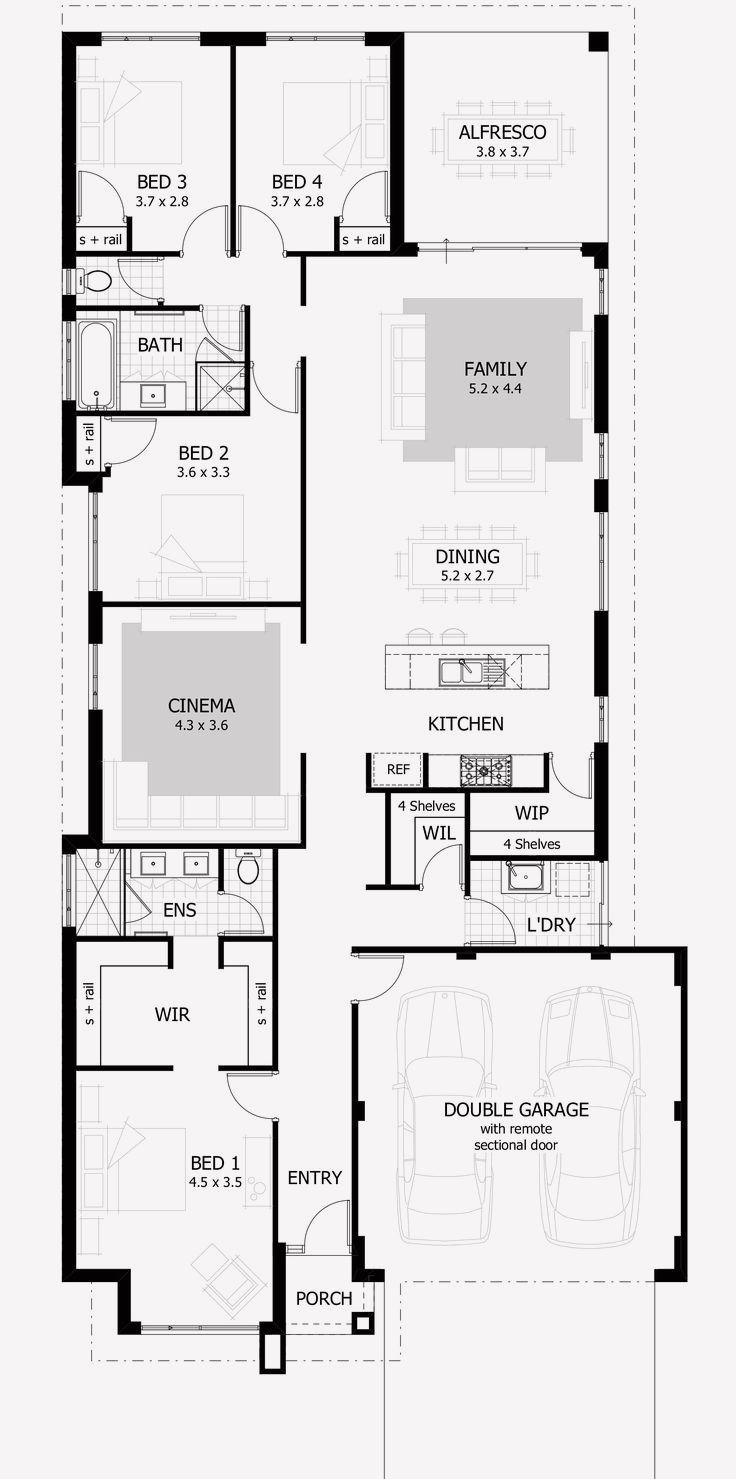 16 House Floor Plan Design Software Free Narrow House Plans Home Design Floor Plans Floor Plan Design