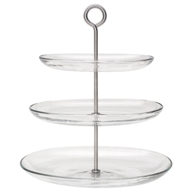 KVITTERA serving stand glass 34 cm | IKEA Dining Room