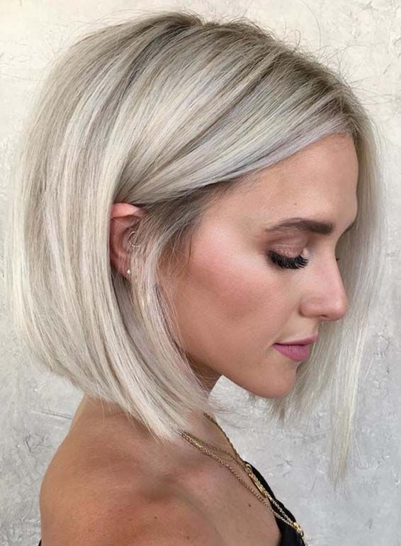 Perfect Blunt Bob Haircuts For Women To Flaunt In 2018 New Hair