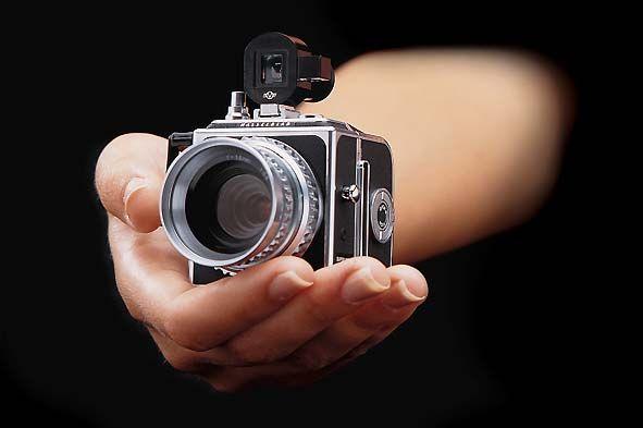 mini Hasselblad camera