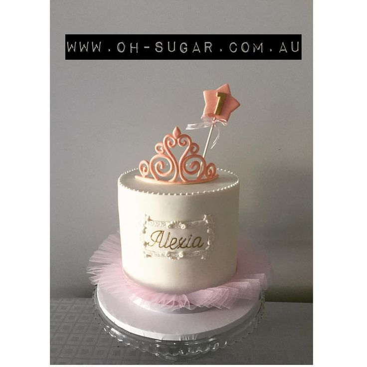 "67 Likes, 10 Comments - Oh Sugar! (@ohsugarcakes) on Instagram: ""Ballerina birthday cake #ohsugar #tiaracake#girlscake"""