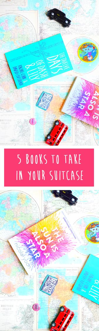 YA Novels to Take On Holiday