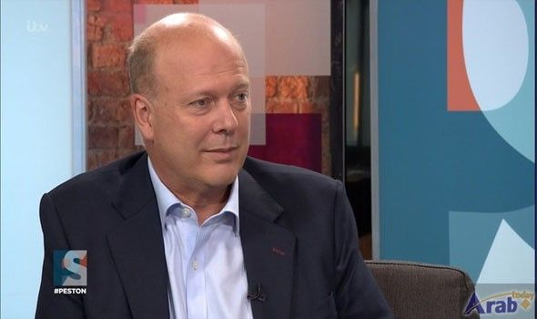 Chris Grayling to announce airport expansion plans…