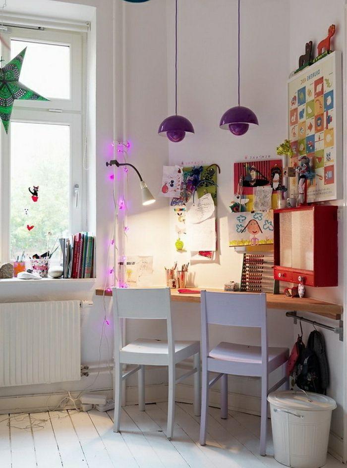 fauteuil bureau ergonomique, chaise de bureau enfant en bois coloré