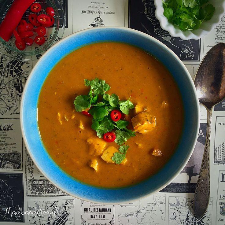 Tøm-køleskabet-grøntsagssuppe med smag af Thailand