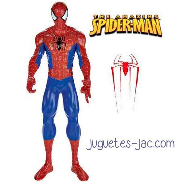 Figura grande del Spiderman de 33 cm. articulada.